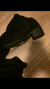 Knee High Black Suede Boots London Ontario image 2