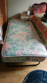 Jay-Be foldable single bed with mattress