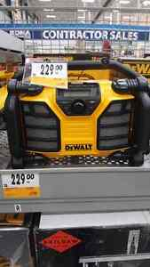 Dewalt radio 20 volt  in box never open