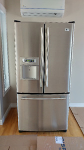 REFRIGERATEUR  LG ,3 PORTES, STAINLESS STEEL