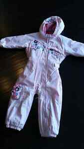 Girls Columbia 3T One Piece Snowsuit