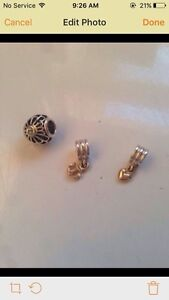 PANDORA authentic TWO TONE rare charms, for HALF price.