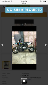Looking To View 2015 up YCF 190cc Pit Bike