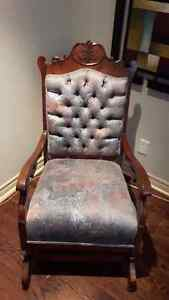 ANTIQUE PLATFORM ROCKER - CIRCA 1890'S