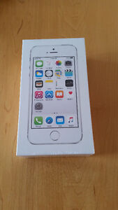 BRAND NEW SEALED Iphone 5s Silver 16gb