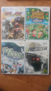 Wii Video Games for Sale $15 for all