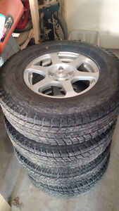 P235/75/R15 Blizzak Tires and Rims