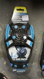 Snow/Ice Traction aids for shoes  -  NEW - Only $15 now