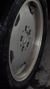 "Extremly RARE Genuine Mercedes AMG Monoblock 16"" staggered rims"