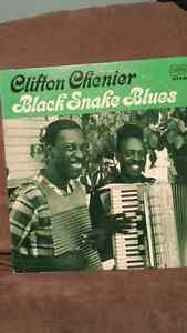 ***SOLD*** Clifton Chenier vinyl lp - Black Snake Blues
