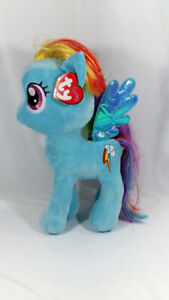 Rainbow Dash My Little Pony Beanie Buddies Collection Large Toy