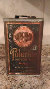 1920's Imperial Polarine Can