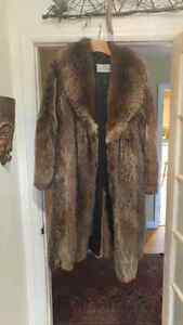 Mint Men's Raccoon Great Coat