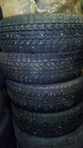 4 Studded winter tires- 185/65 r14