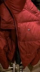 Hilfiger down ski jacket Mens small