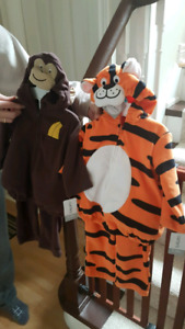 NEW !! Monkey and Tiger costume