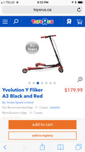 Yvolution Y Flicker, A3 black and red