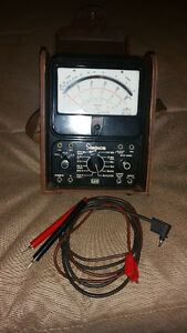 Vintage Simpson voltage meter