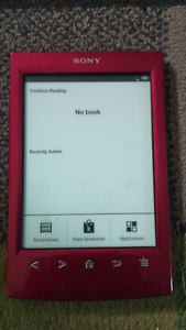 "!!Selling!!..SONY White Paper Background ""E-Reader"""