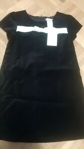 New Joefresh blk velvet dress