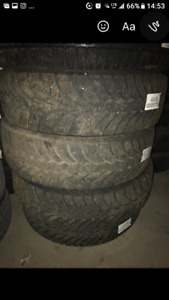 Winter Tires 255/70R18