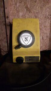 Rare Wankel rotary lawn mower engine