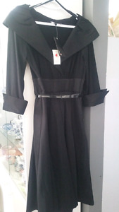 Laura size 6 black dress new with tags was $195 asking  $75