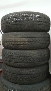 4 pneus d'ete 175/65R15 Dunlop sp sport