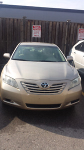 2008 Toyota camry LE.finance available