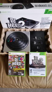 DJ Hero for XBOX 360 with 2 games