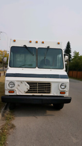 Delivery truck, food truck, contractor truck