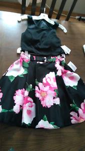 Grad/prom 2 piece dress