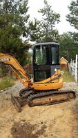 2004 Case CX36 Mini Excavator Low HRS
