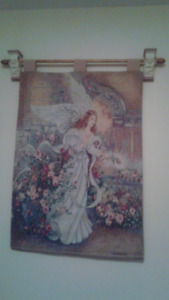 Tapestry Angel Wall Hanging