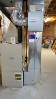 Humidifier, Furnace, Water Heater, Fireplace   Repair & Install