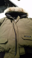 Men's Large *100%AUTHENTIC*Military Green Canada Goose Chiliwack