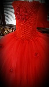 Beautiful Red Tutu Dress