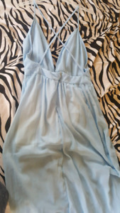 New blue small/med summer dress