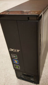 Acer Aspire Desktop ComputerDual Core 3.1 GHz