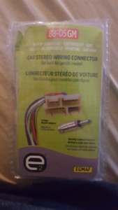 88-05 gm car stereo wiring connector