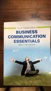 Textbook - Business Communication Essentials 4th Can. Edition
