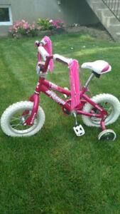 """Girl's Bicycle- 12 """" Pink"""
