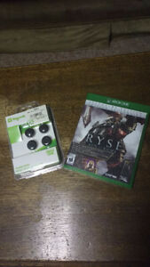 X-Box One game and thumb grips
