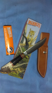 Collecter Marble's  Knife Expert 2 Buffalo/Crown Stag