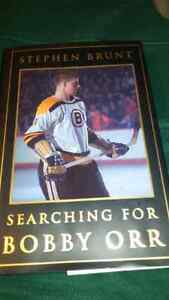 First Edition Bobby orr book