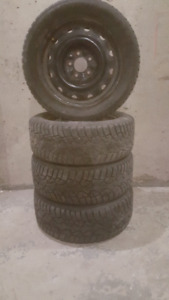 5x114 205/55/16 winter tires Mazda 5