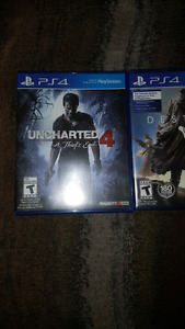 3 PS4 games mint!!