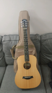 MINT Baby Taylor 305 Acoustic Guitar + Case,Strap $299 OBO
