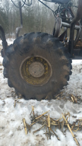 Wanted skidder tire