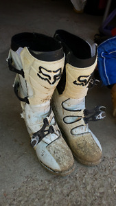 *Fox motocorss boots size 13 worn once for sale*